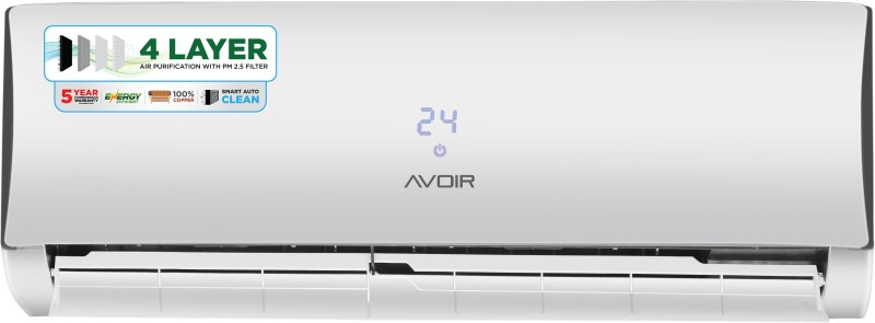 Avoir 1 Ton 3 Star BEE Rating 2018 Split AC  - White(AVS12CU3L-2W, Copper Condenser) 1