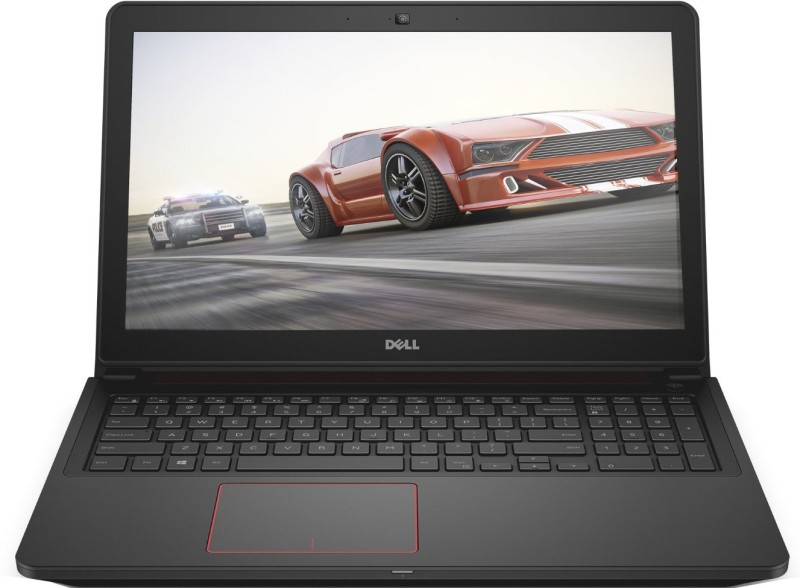Dell Inspiron Core i7 6th Gen - (8 GB/1 TB HDD/8 GB SSD/Windows 10 Home/4 GB Graphics) 7559 Gaming Laptop(15.6 inch, Black With Red Accents, 2.57 kg) 1