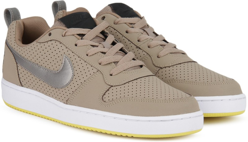 Nike COURT BOROUGH LOW Sneakers For Men(Khaki) 1