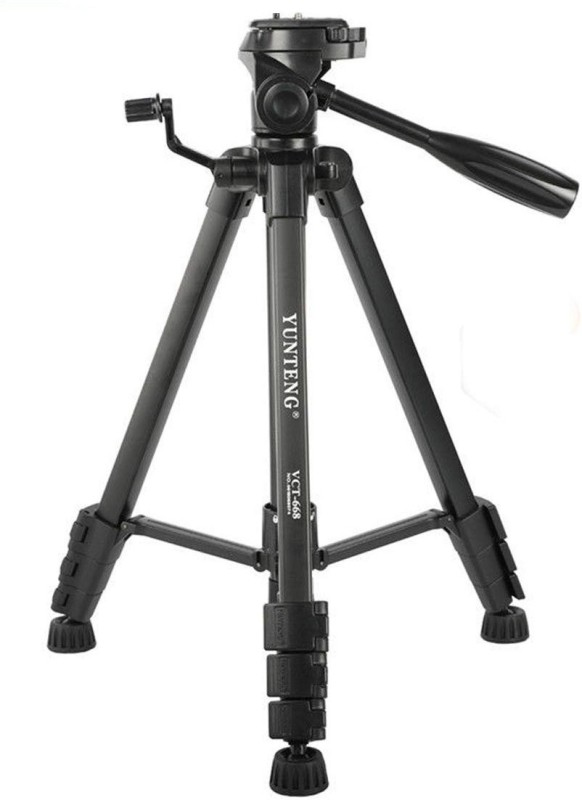 Blueseed Tripod for SLR and DSLR of Sony Canon Tripod(Black, Supports Up to 3000 g) 1
