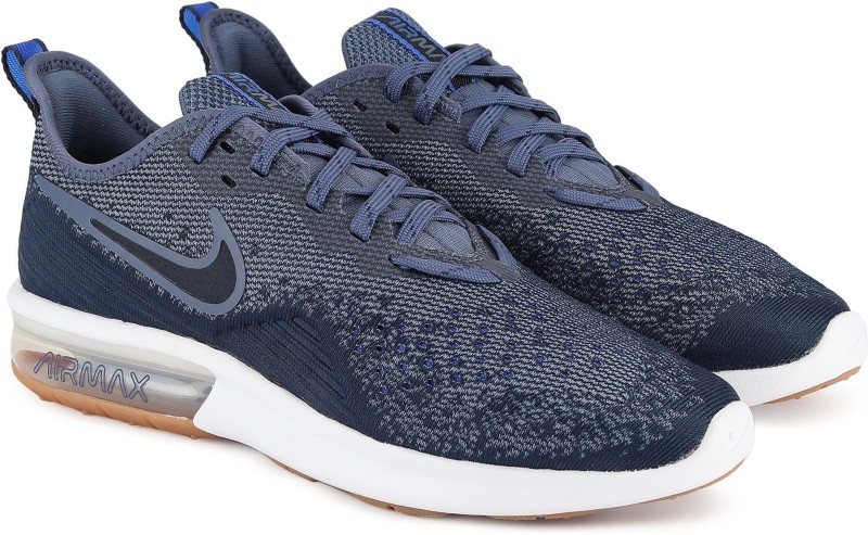 Nike AIR MAX SEQUENT 4 Sneakers For Men(Blue) 1