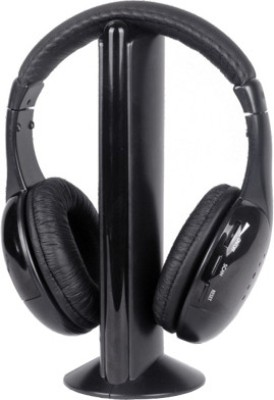 Intex Wireless Roaming Bluetooth Headset with Mic(Black, On the Ear) 1